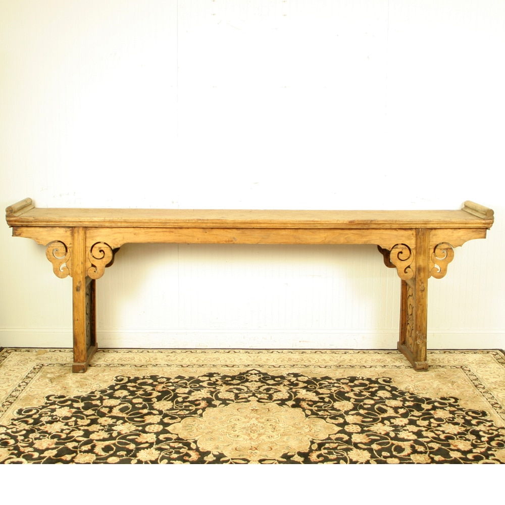 Long sofa table long table behind couch magnificent for Long console table behind couch