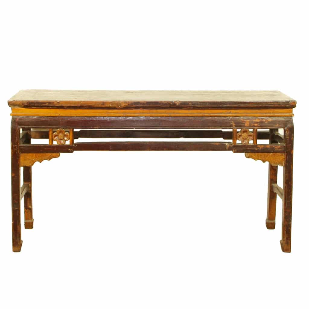 Antique chinese 63 inch sofa hall table for 10 inch sofa table